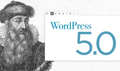 انتشار وردپرس نسخه 5 و افزونه وردپرس پشتیبان