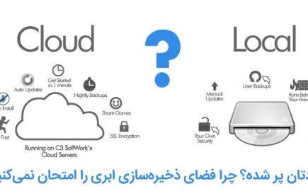 hard disk vs. cloud storage