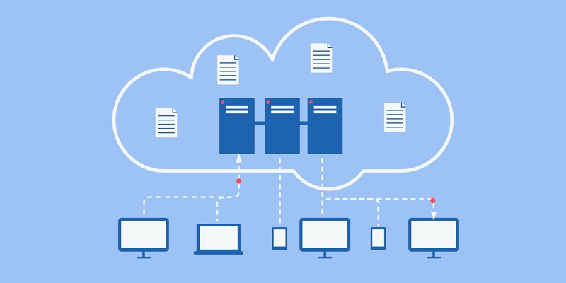 storing a backup file