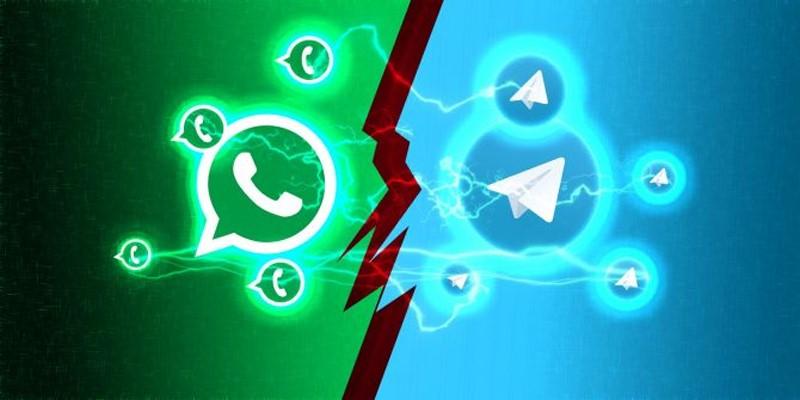 whatsapp vs telegram
