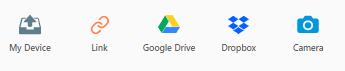 انتقال فایل از گوگل درایو دراپ باسک و وب کم در پشتیبان