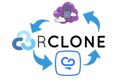 بک اپ گیری اتوماتیک از سرور با rclone